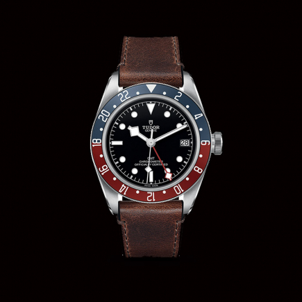 Tudor - Tudor Black Bay GMT leather band 79830RB