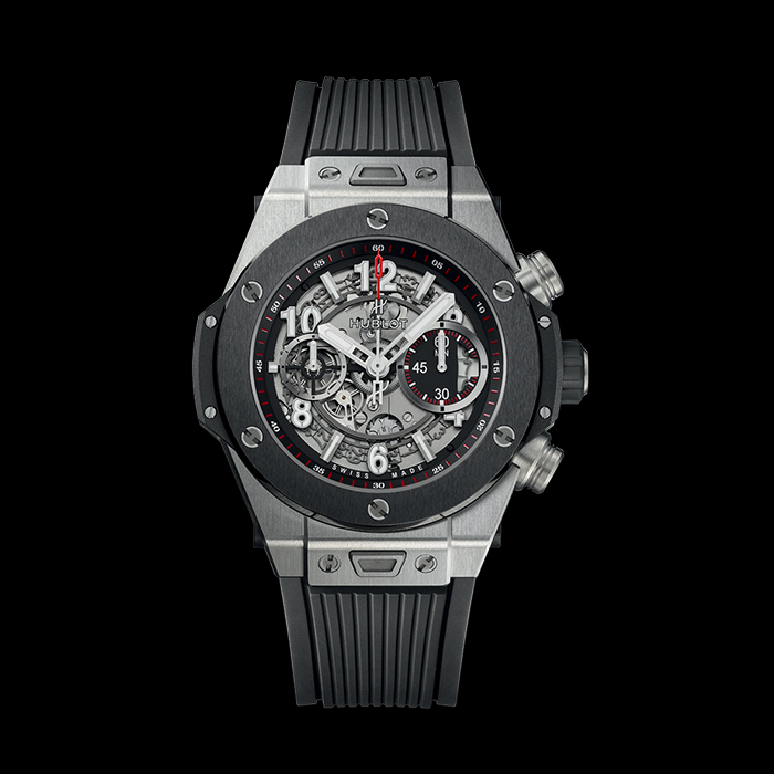 hublot - HUBLOT BIG BANG UNICO 42MM TITANIUM CERAMIC 441.NM.1123.RX