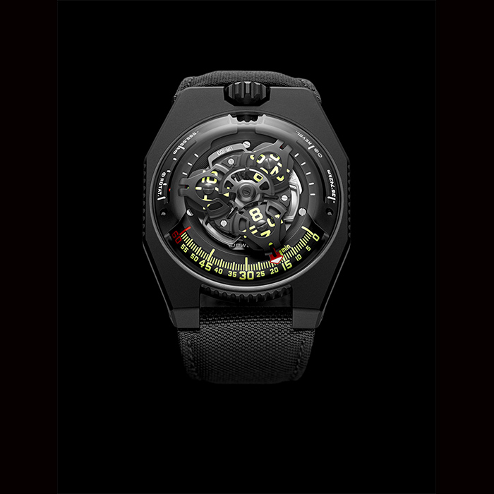 urwerk - URWERK Space Time, Black, UR_100