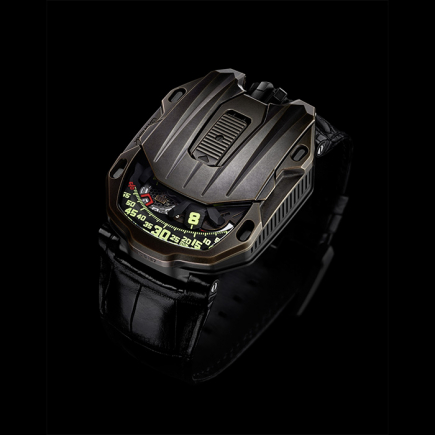 urwerk - Urwerk UR-105 MAVERICK  Bronze and titanium