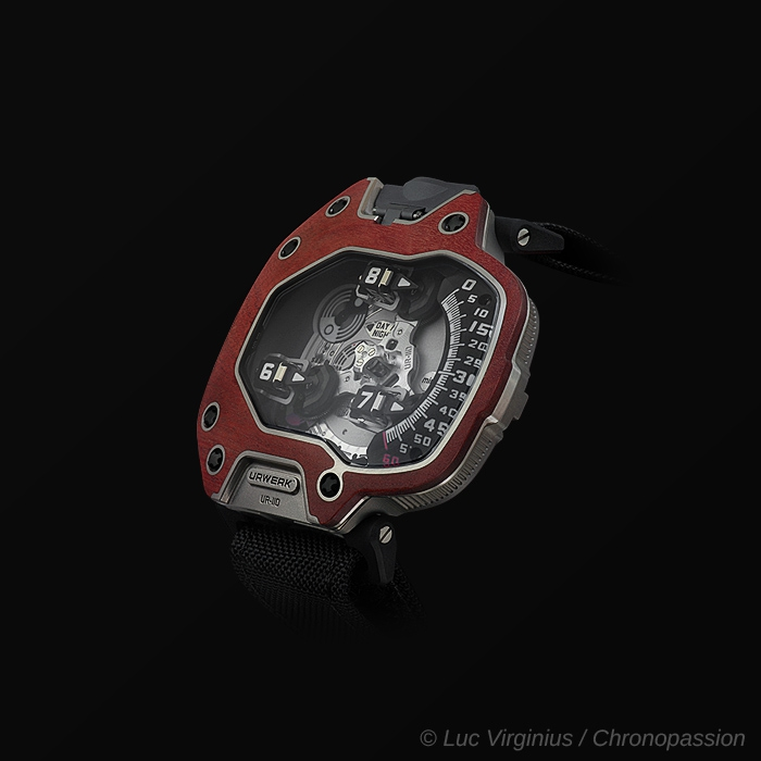 "urwerk - urwerk UR-110 ""EastWood""  red ebony"