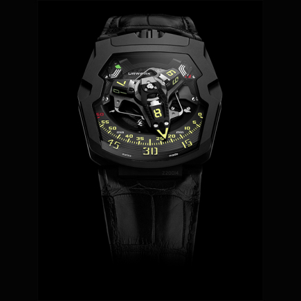 "urwerk - URWERK UR-220 ""Falcon Project"" Edition All Black"