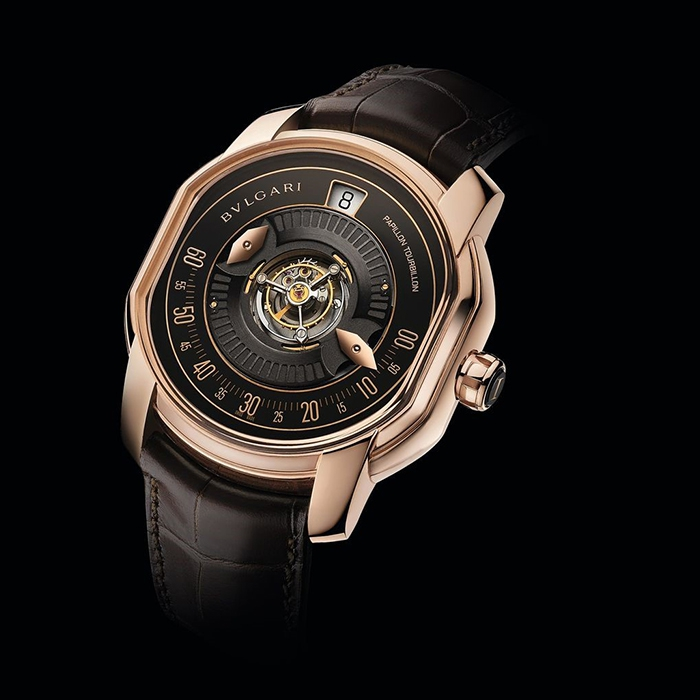187c0ebe749 Discover the watch on video. See other pictures. Home · Bulgari · BULGARI  PAPILLON TOURBILLON DANIEL ROTH 102074